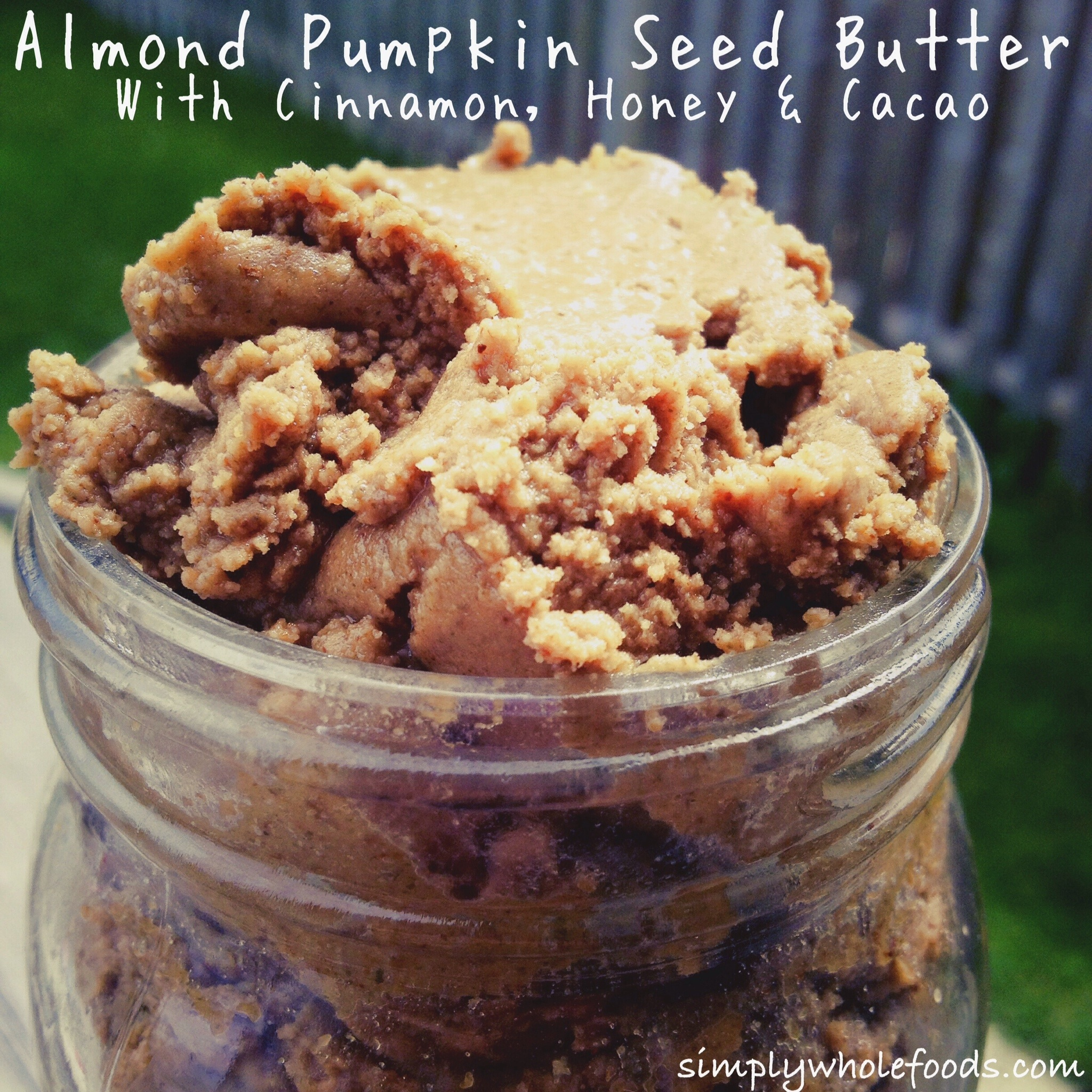 Whenever I make homemade nut butter, I can't stop myself from eating ...