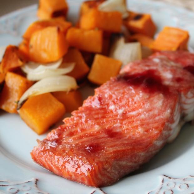 SimplyWholeFoods_Maple Glazed Salmon