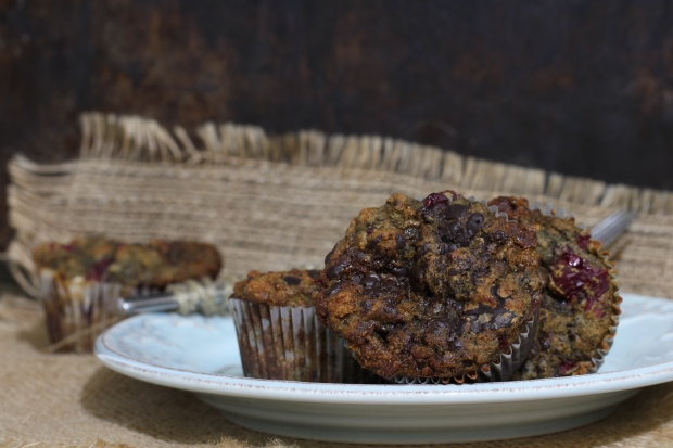 SimplyWholeFoods_Chocolate_Cranberry_Muffins