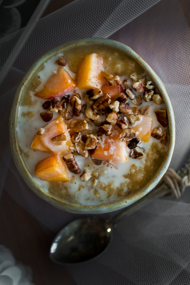 Simply Whole Foods_Peach Oatmeal