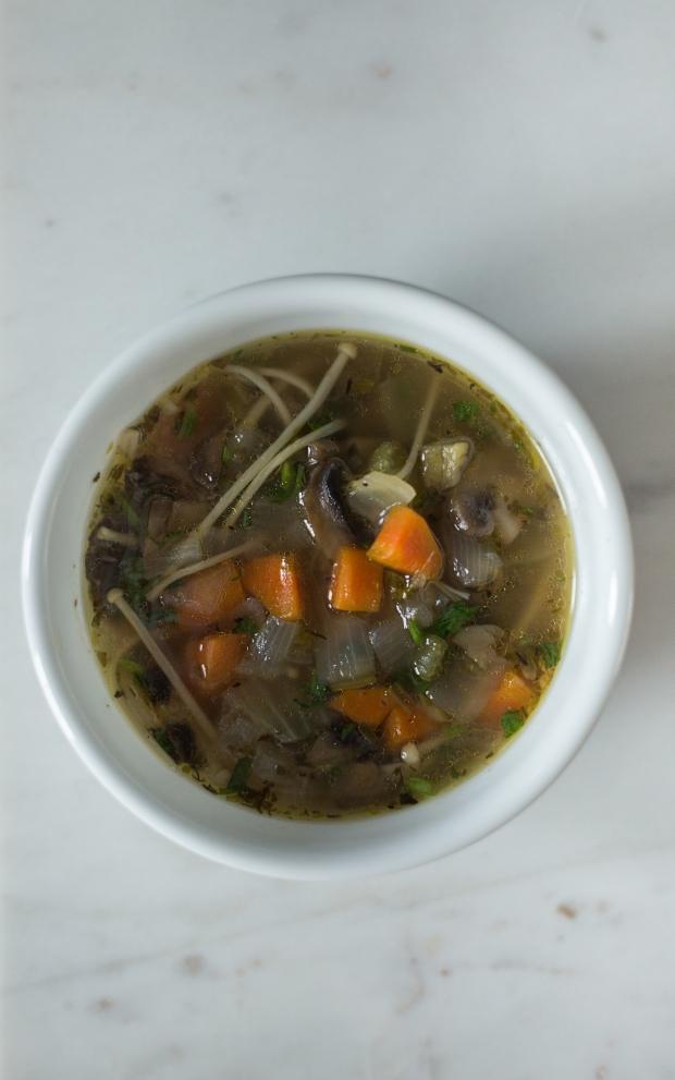 SimplyWholeFoods_InstantPot Mushroom Soup